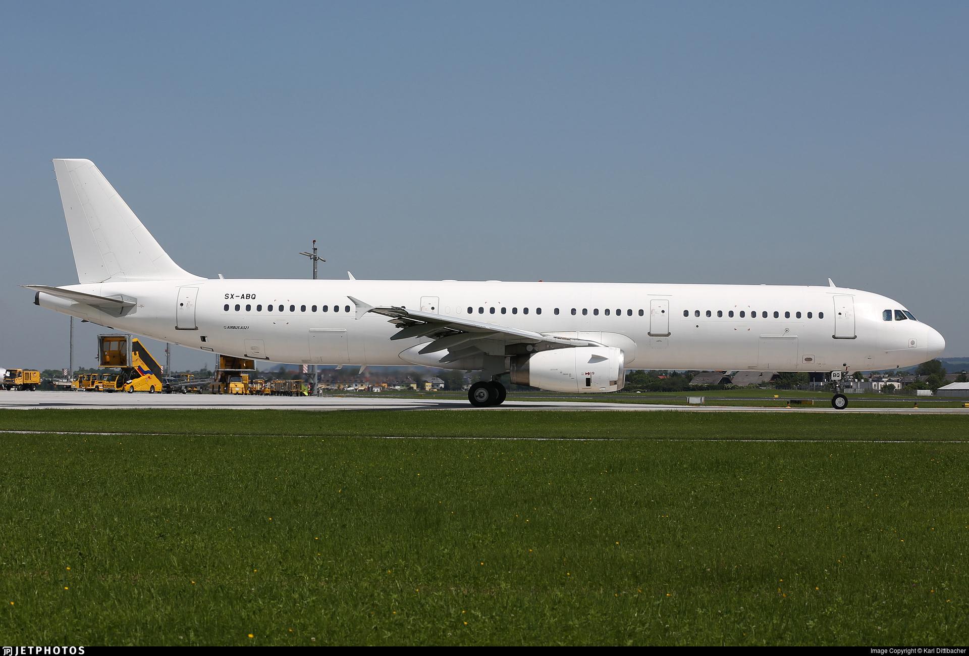 SX-ABQ - Airbus A321-231 - Olympus Airways