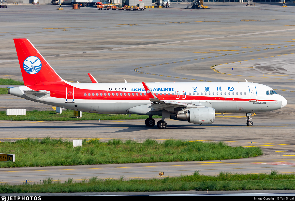 B-8330 - Airbus A320-214 - Sichuan Airlines