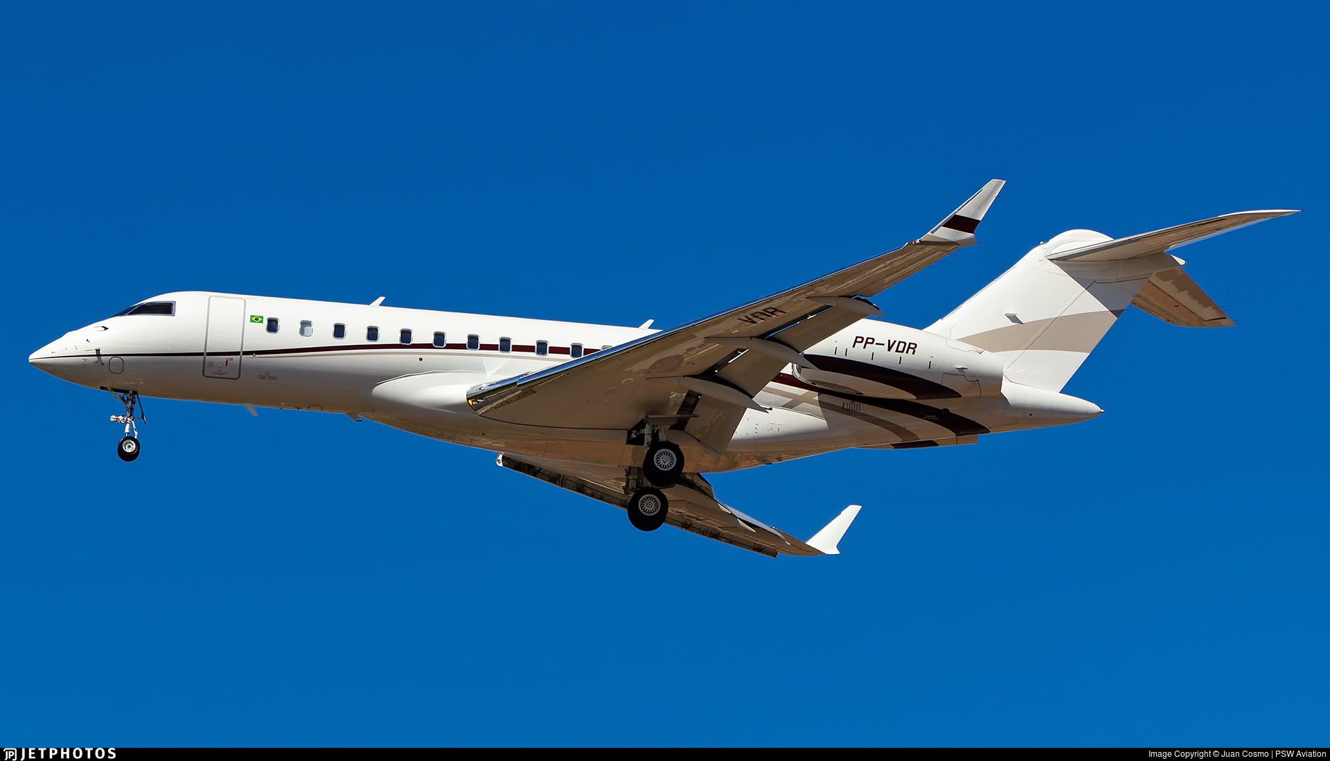 PP-VDR - Bombardier BD-700-1A10 Global Express XRS - Companhia Vale De Rio Doce