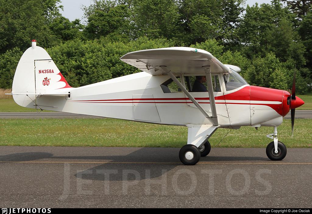 N4358A | Piper PA-22-150 Tri-Pacer | Private | Joe Osciak | JetPhotos