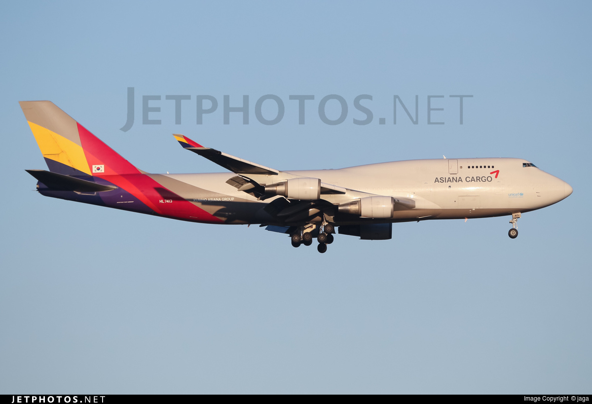 HL7413 | Boeing 747-48E(BDSF) | Asiana Cargo | jaga ...