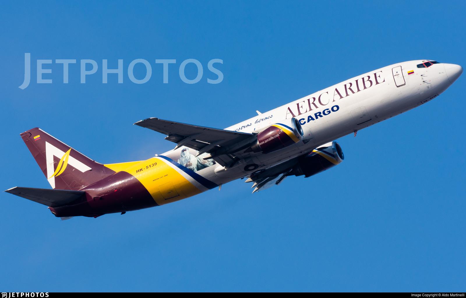 HK-5139 - Boeing 737-476(SF) - Aer Caribe