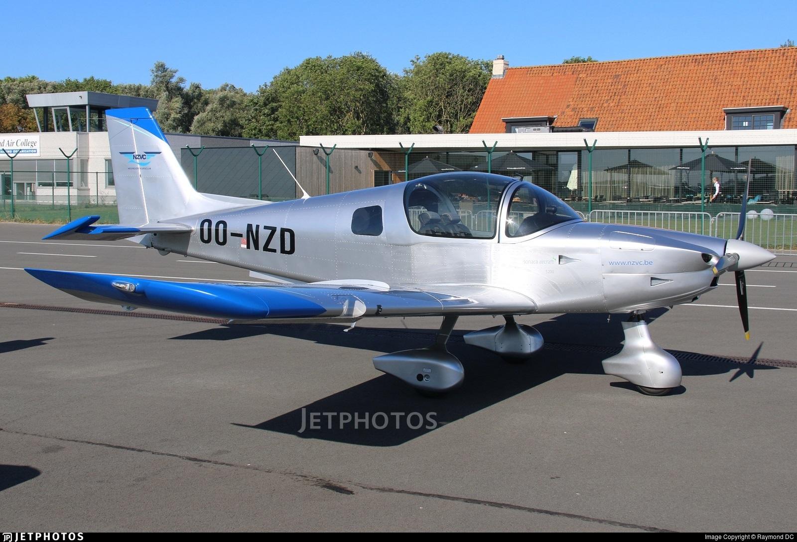 OO-NZD - Sonaca 200 - Noordzee Vliegclub