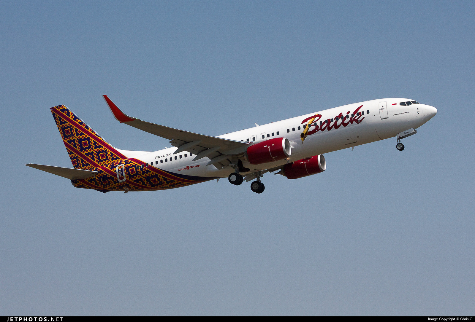 Pk lbk boeing 737 8gp batik air chris g jetphotos pk lbk boeing 737 8gp batik air stopboris Image collections