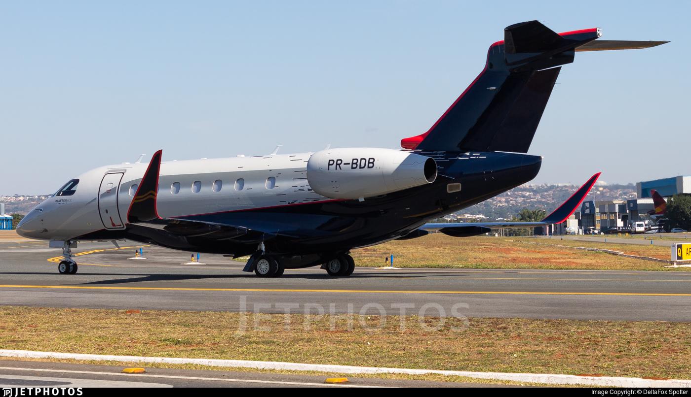 PR-BDB - Embraer EMB-550 Praetor 600 - Banco Bradesco
