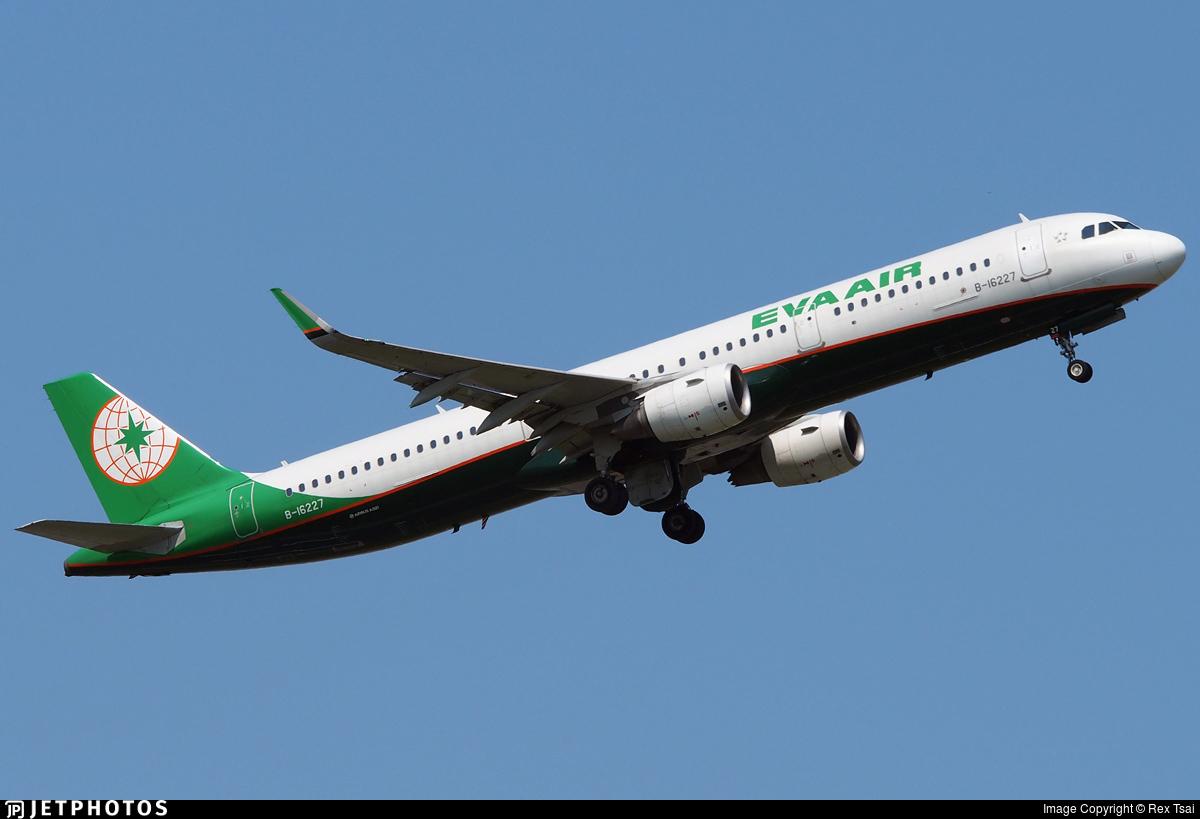 B-16227 - Airbus A321-211 - Eva Air