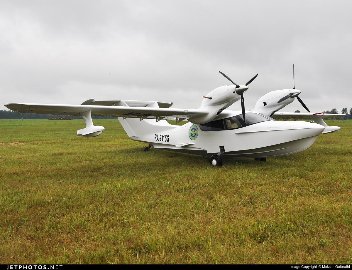 RA-2115G - Chaika L-44 - Hydroavia Kuzbass