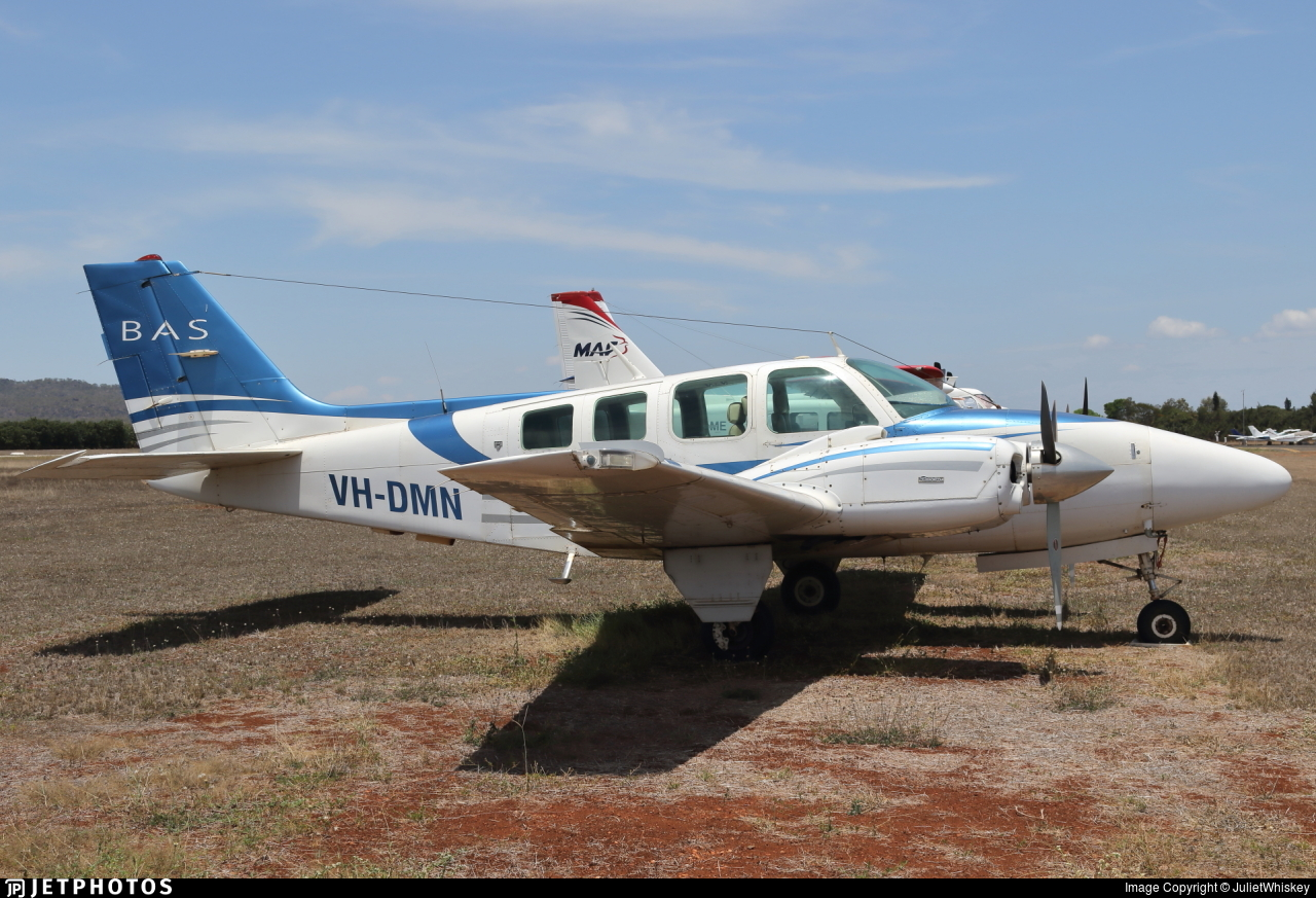 VH-DMN - Beechcraft 58 Baron - Broome Air Services