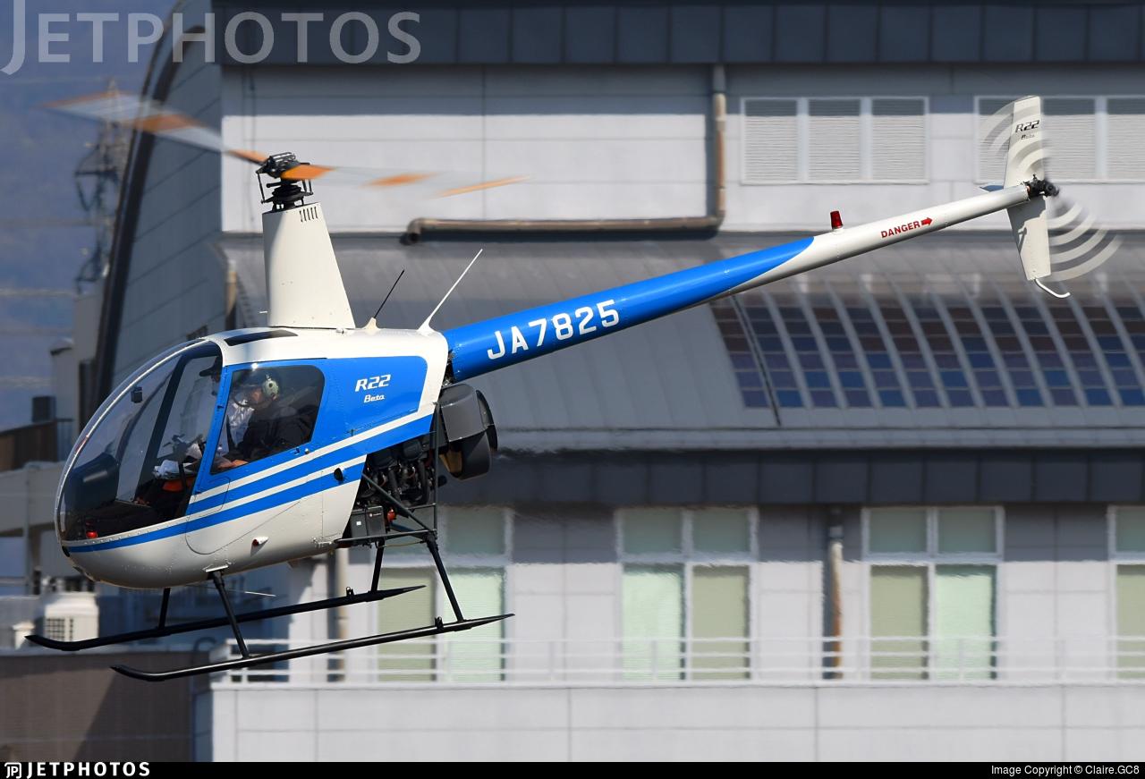 JA7825 - Robinson R22 Beta - Private