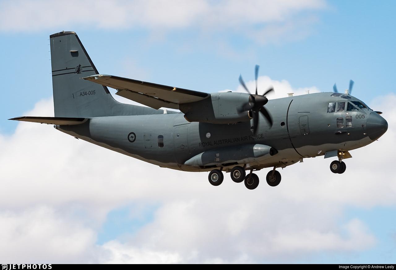 A34-005 - Alenia C-27J Spartan - Australia - Royal Australian Air Force (RAAF)