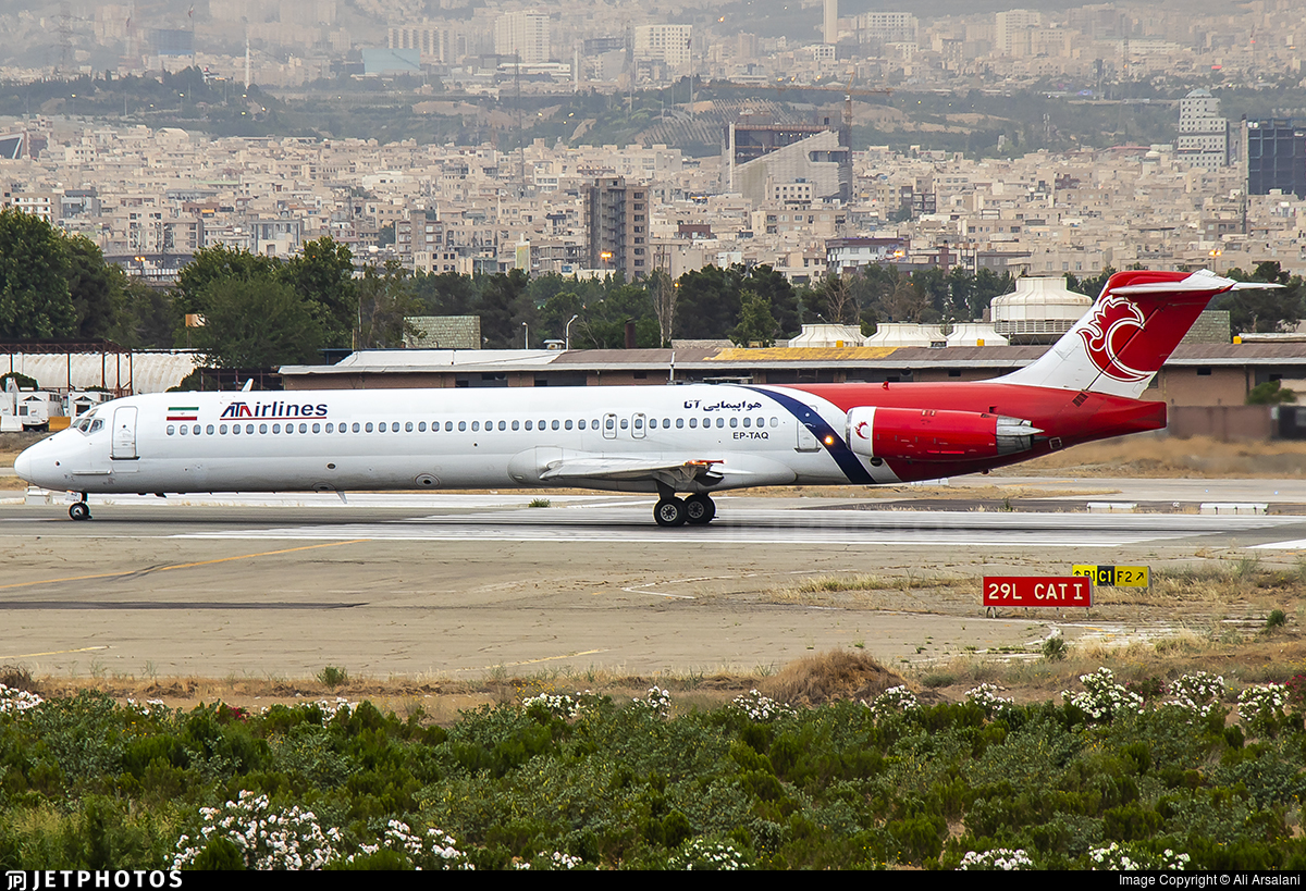 EP-TAQ - McDonnell Douglas MD-83 - ATA Airlines [Iran]