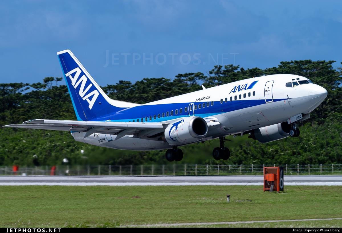 JA305K - Boeing 737-54K - Air Nippon (ANK)