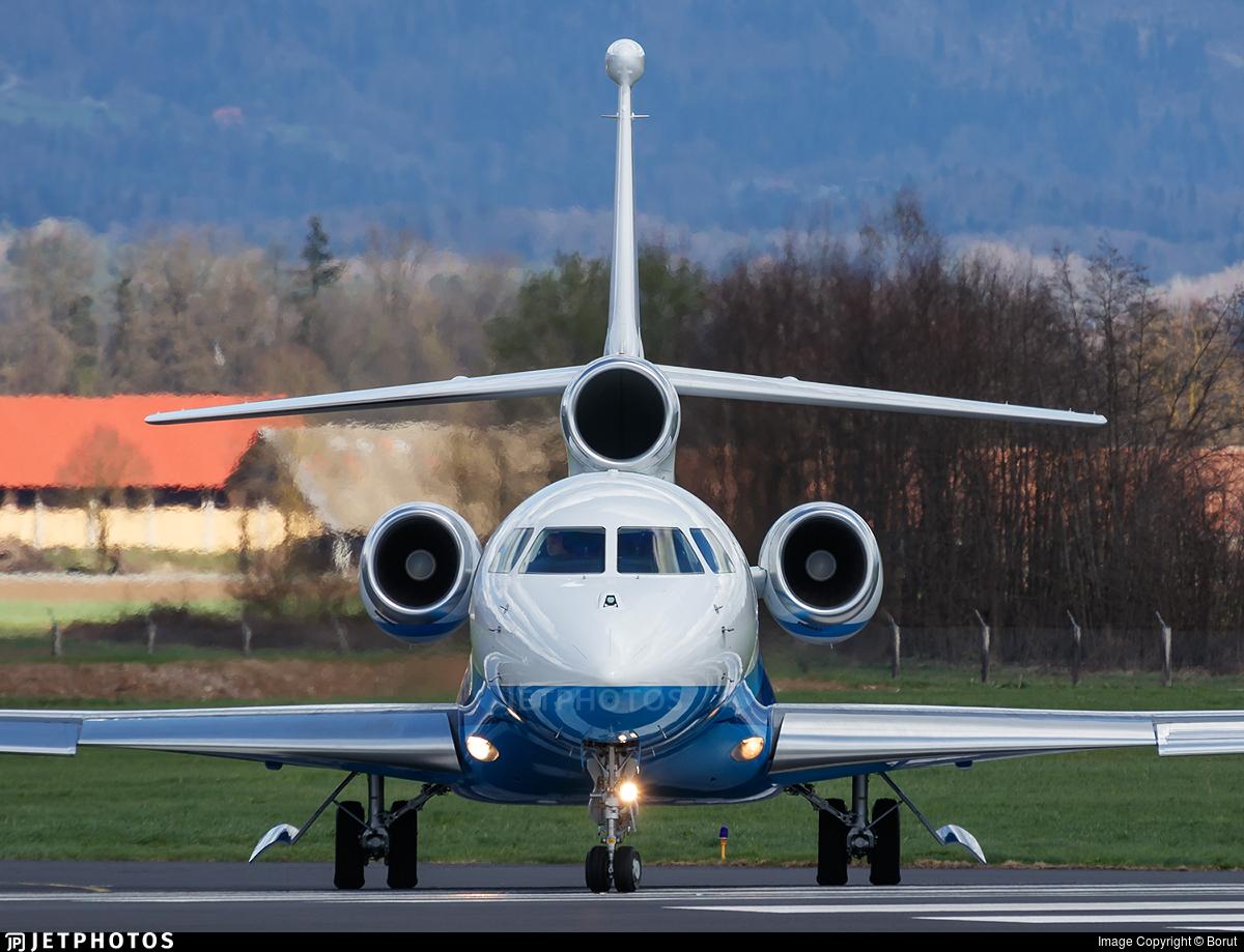 OO-GPP - Dassault Falcon 7X - Luxaviation