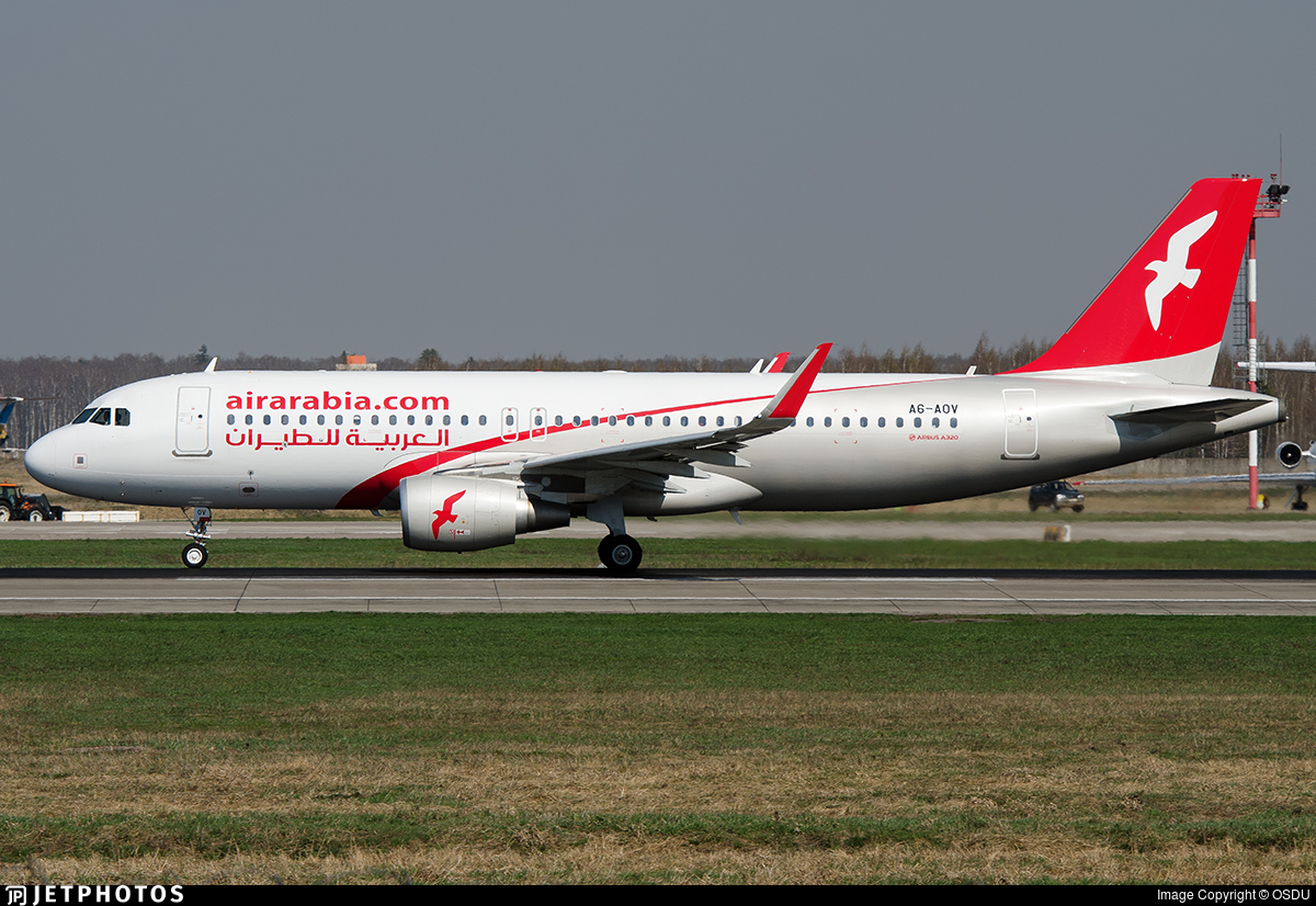A6-AOV - Airbus A320-214 - Air Arabia