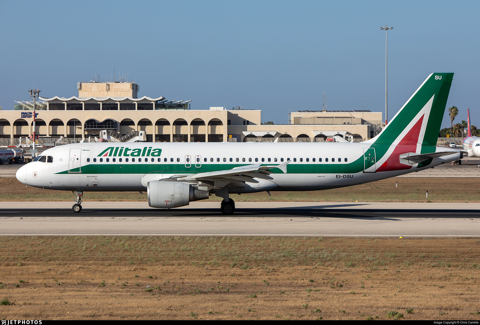 EI-DSU - Airbus A320-216 - Alitalia