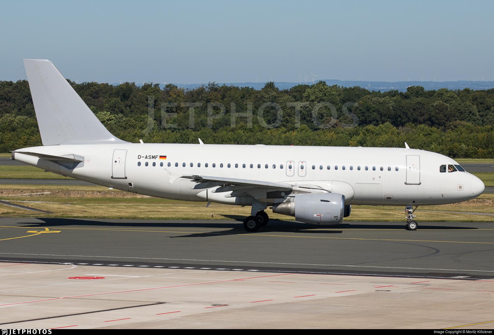 D-ASMF - Airbus A319-111 - SundAir