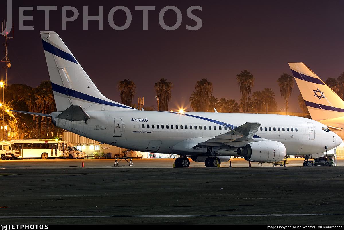 4X-EKD - Boeing 737-758 - Untitled