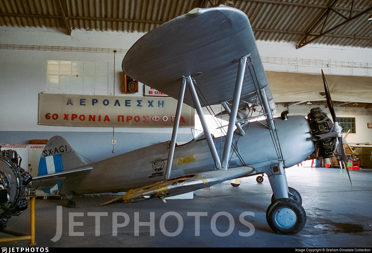 SX-AGI - Boeing N2S-5 Stearman - Private