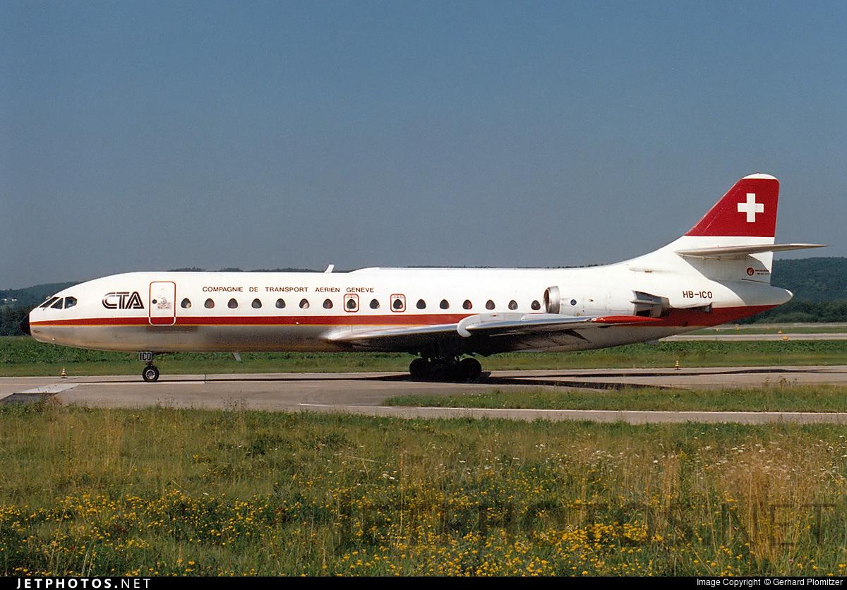 hbico sud aviation se 210 caravelle 10r cta gerhard