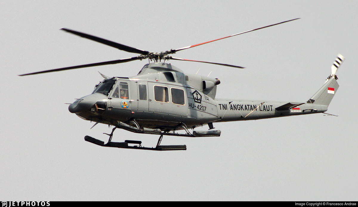 HU-4207 - IPTN NB-412S - Indonesia - Navy