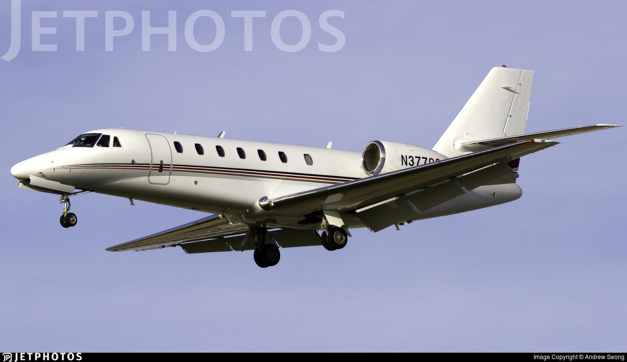 N377QS - Cessna 680 Citation Sovereign - NetJets Aviation