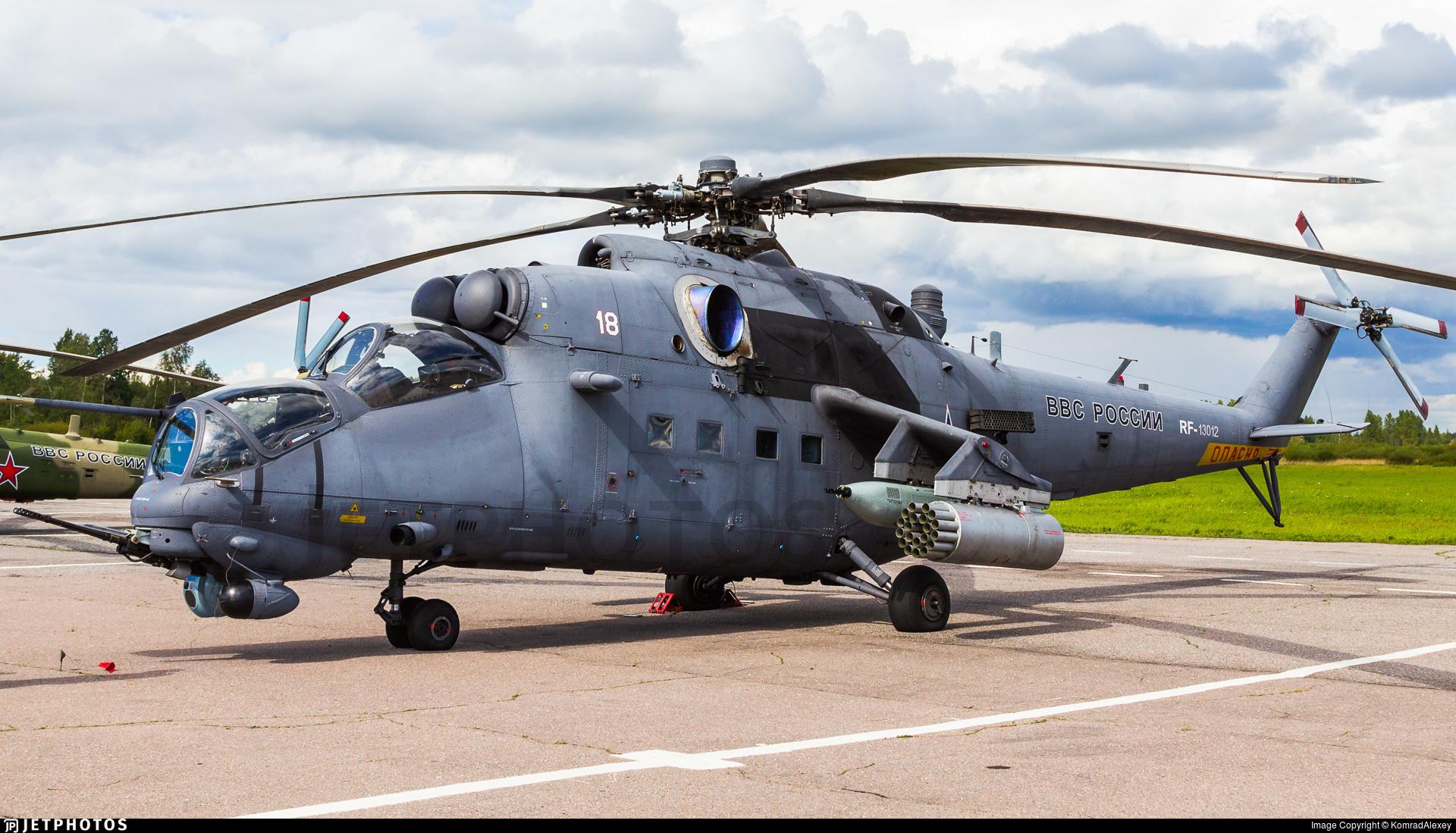 RF-13012 - Mil Mi-35M Hind - Russia - Air Force