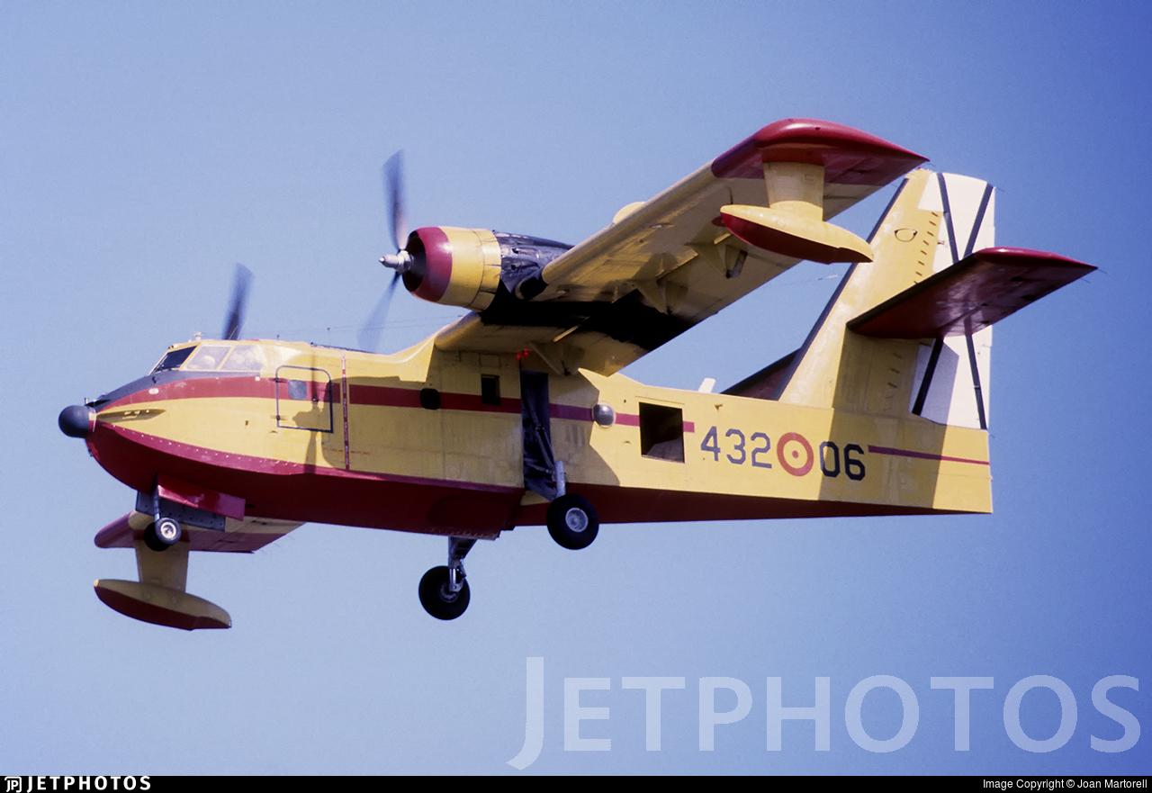 UD.13-6 - Canadair CL-215 - Spain - Air Force