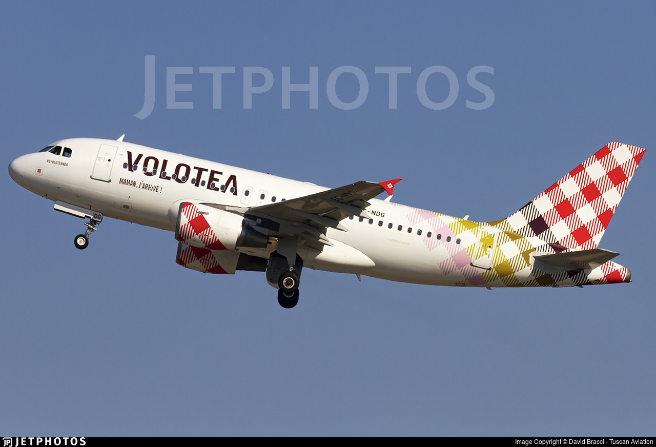 EC-NDG - Airbus A319-112 - Volotea