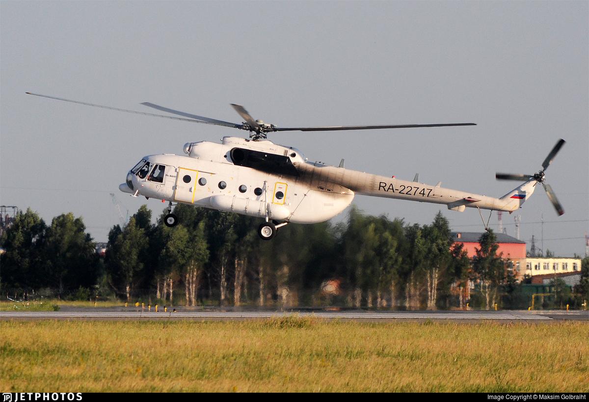 RA-22747 - Mil Mi-8AMT Hip - Aircompany SKOL