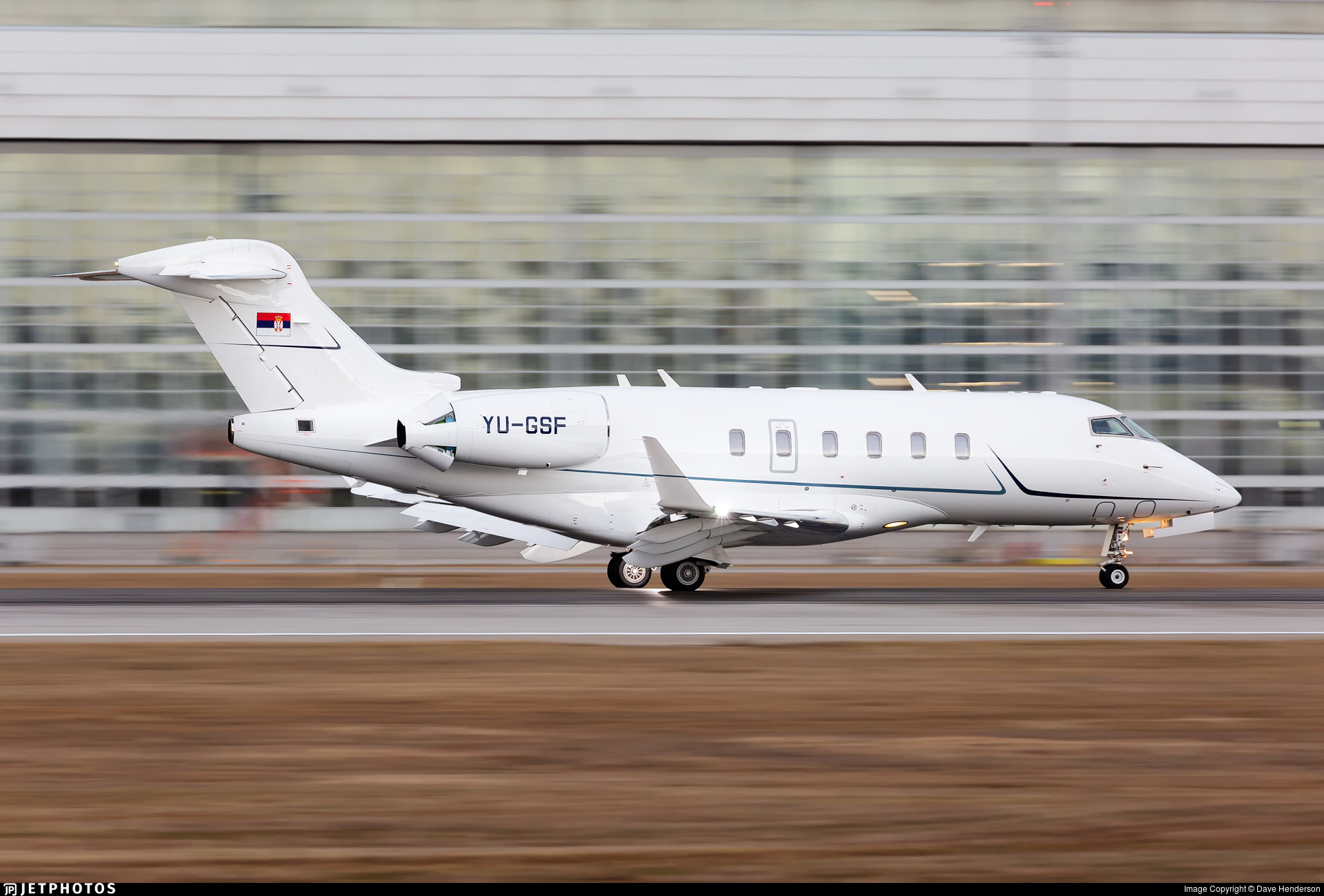 YU-GSF - Bombardier BD-100-1A10 Challenger 350 - Private
