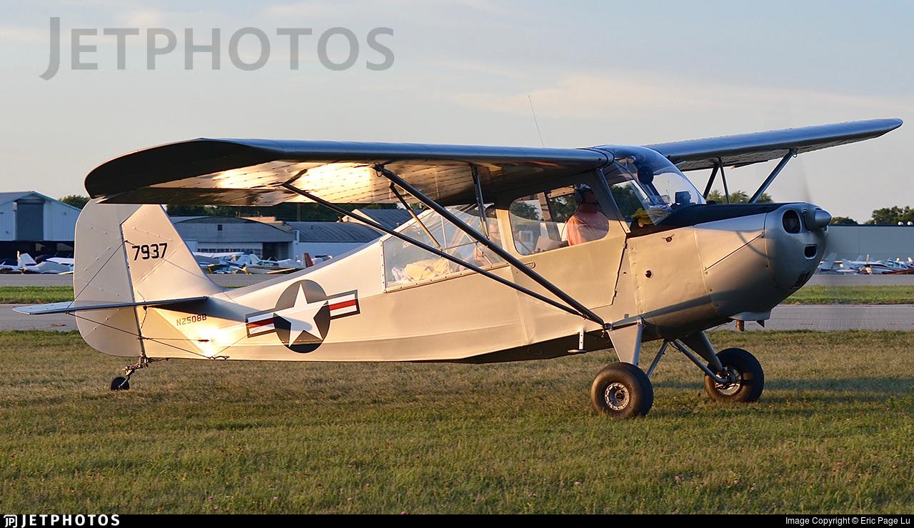 N2508B - Aeronca 7BCM Champion - Private