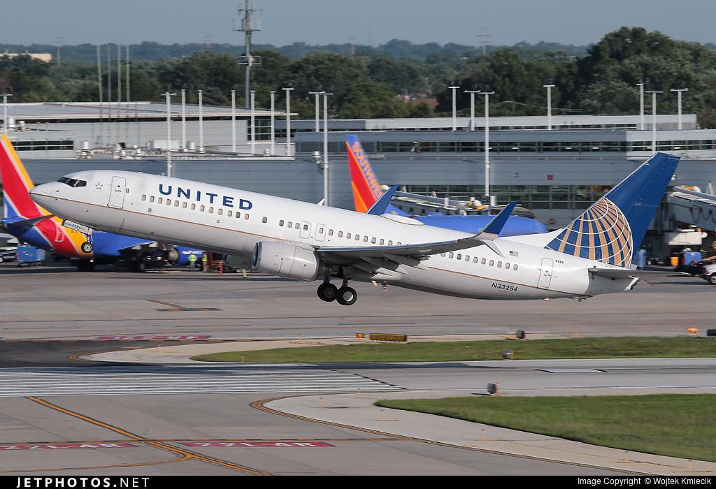 N33284 - Boeing 737-824 - United Airlines