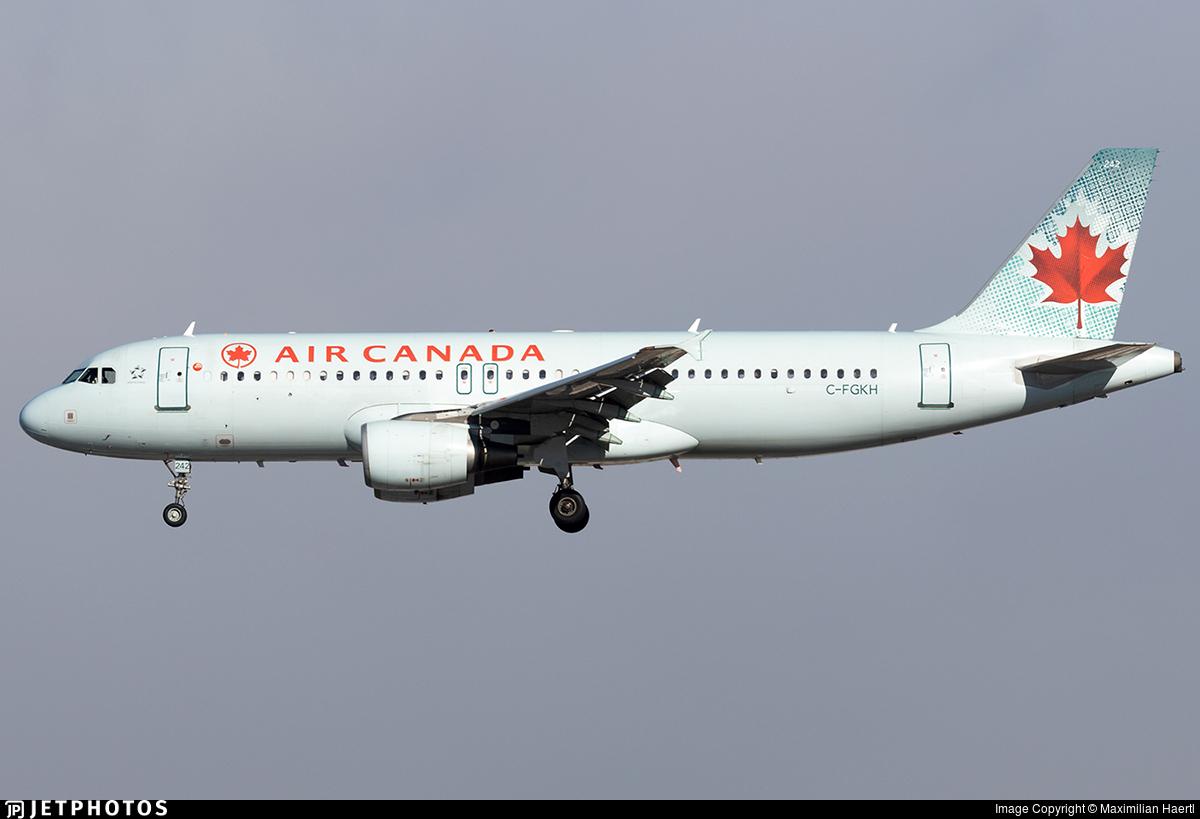 C-FGKH - Airbus A320-214 - Air Canada
