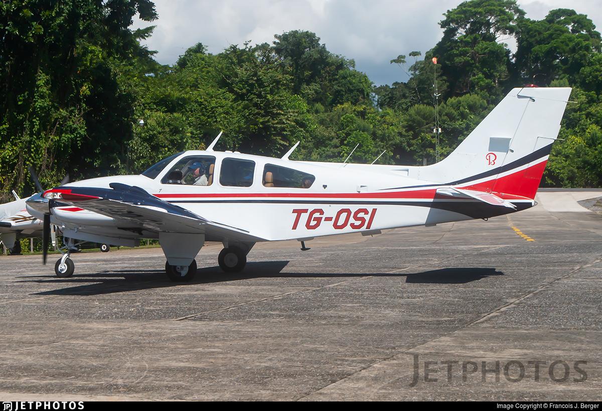 TG-OSI - Beechcraft 95-E55 Baron - Private