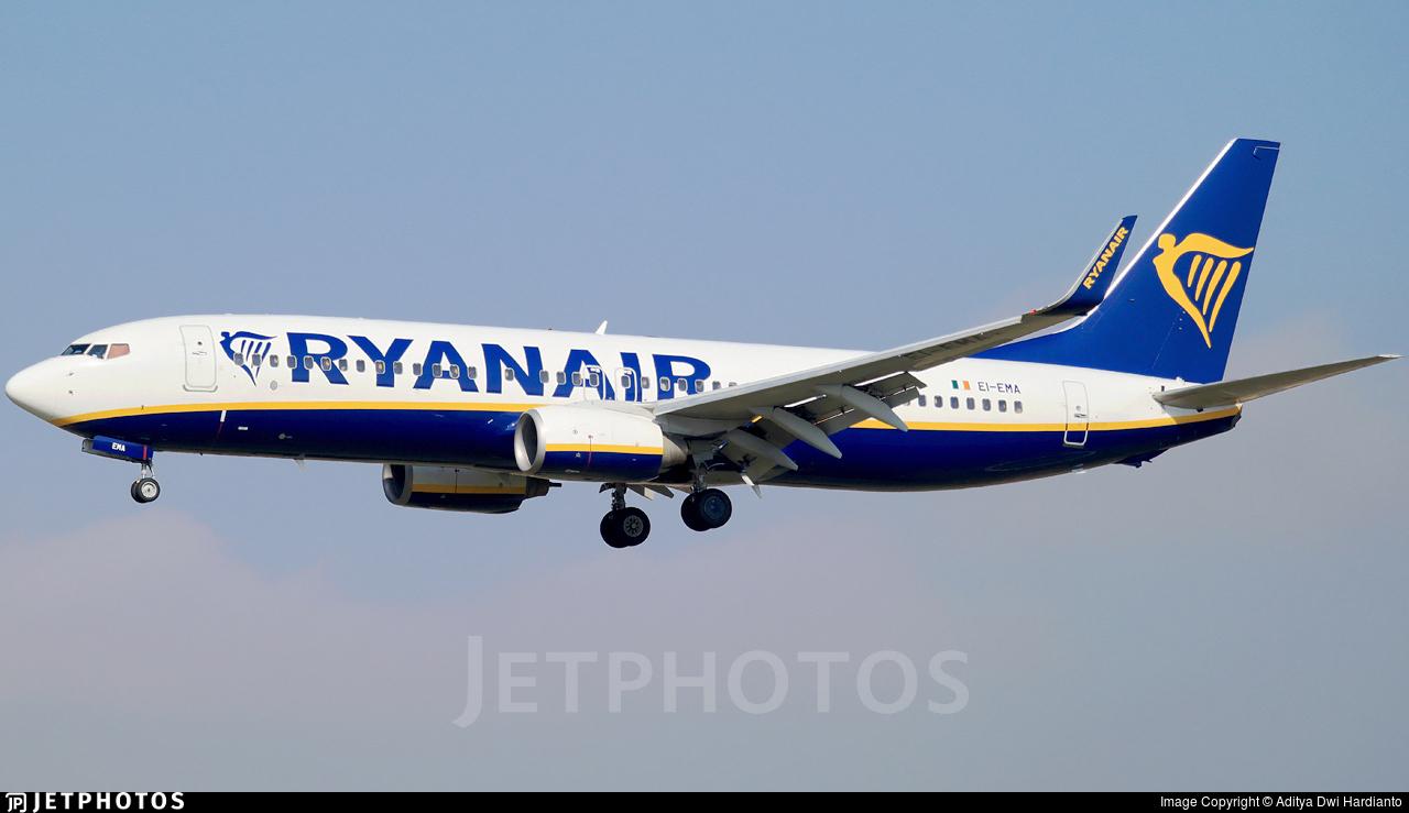 EI-EMA - Boeing 737-8AS - Ryanair