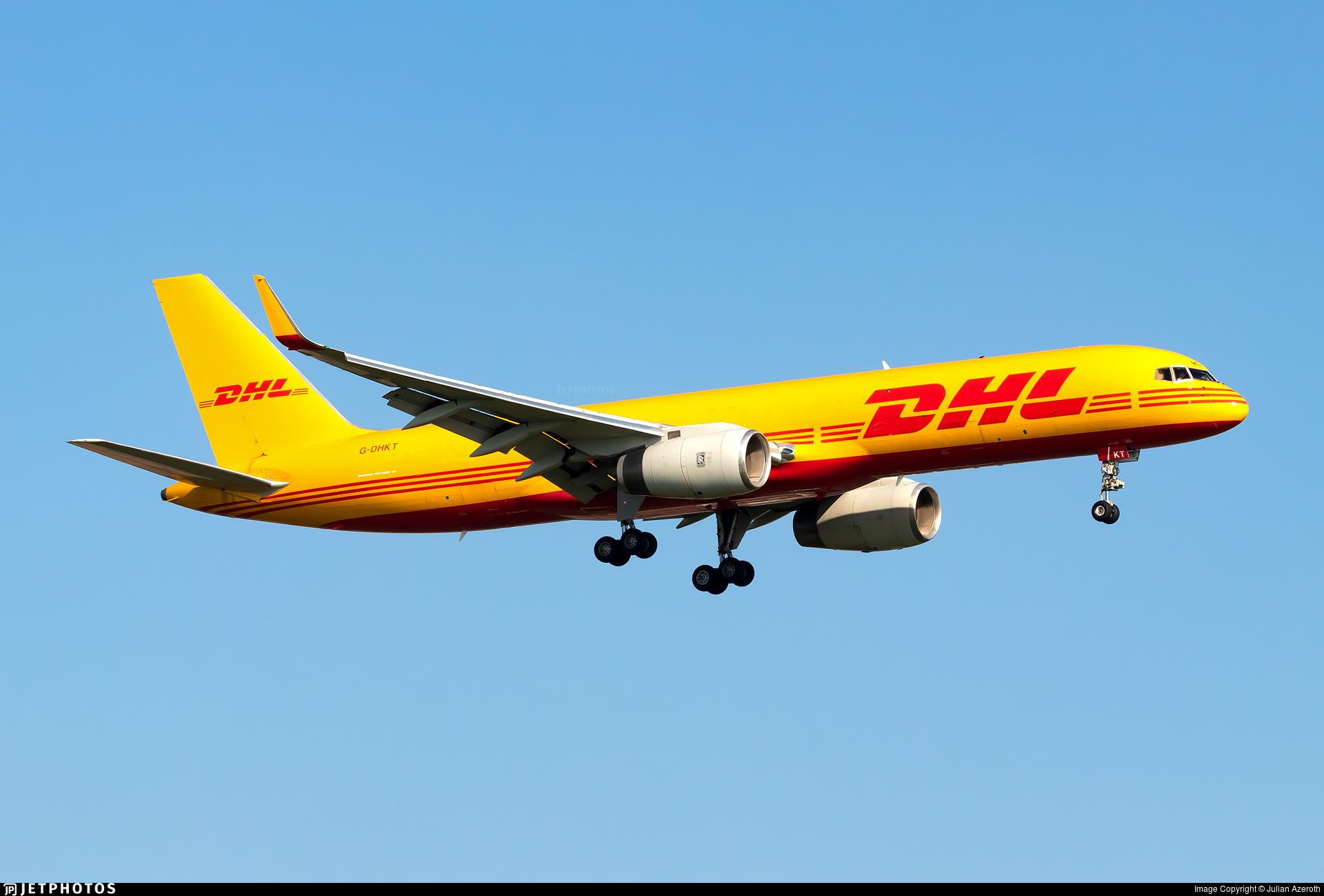 G-DHKT - Boeing 757-223(PCF) - DHL Air