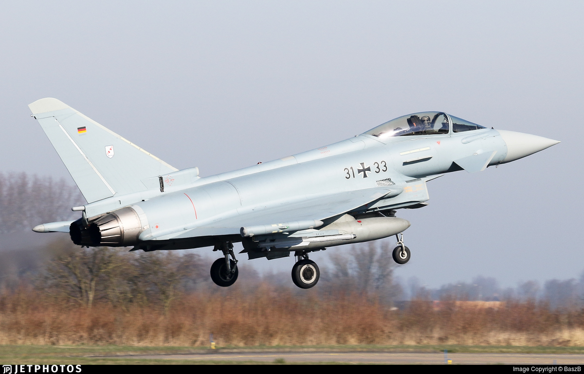31-33 - Eurofighter Typhoon EF2000 - Germany - Air Force