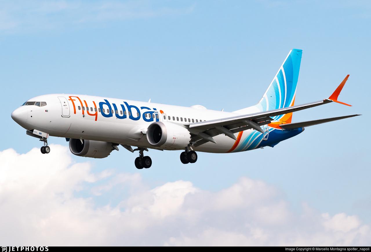 A6-FMR - Boeing 737-8 MAX - flydubai