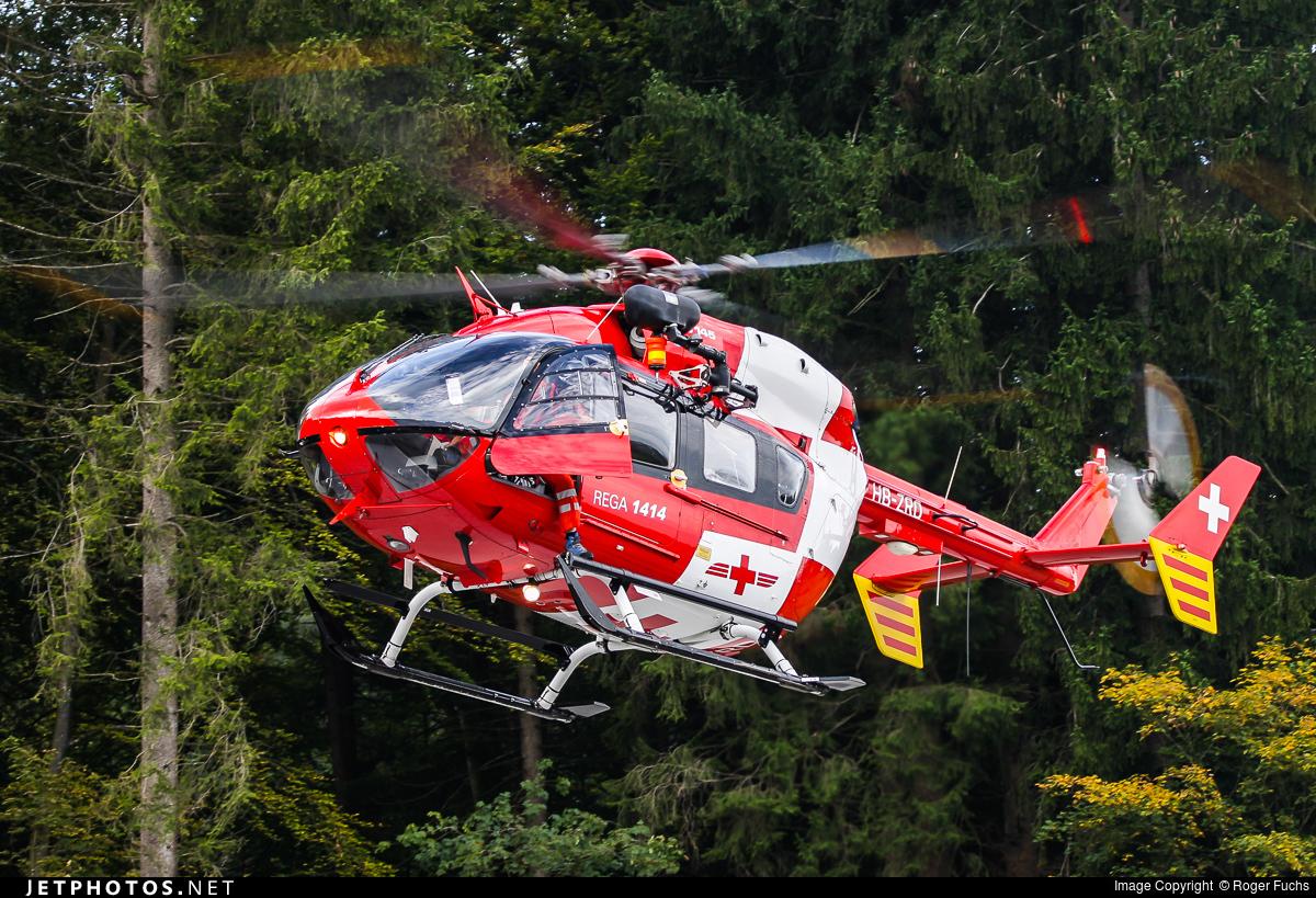 HB-ZRD - Eurocopter EC 145 - REGA - Swiss Air Ambulance