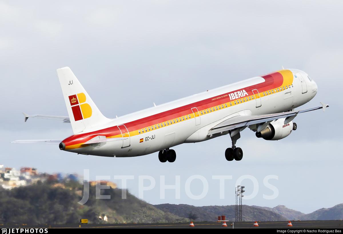 EC-JLI - Airbus A321-211 - Iberia