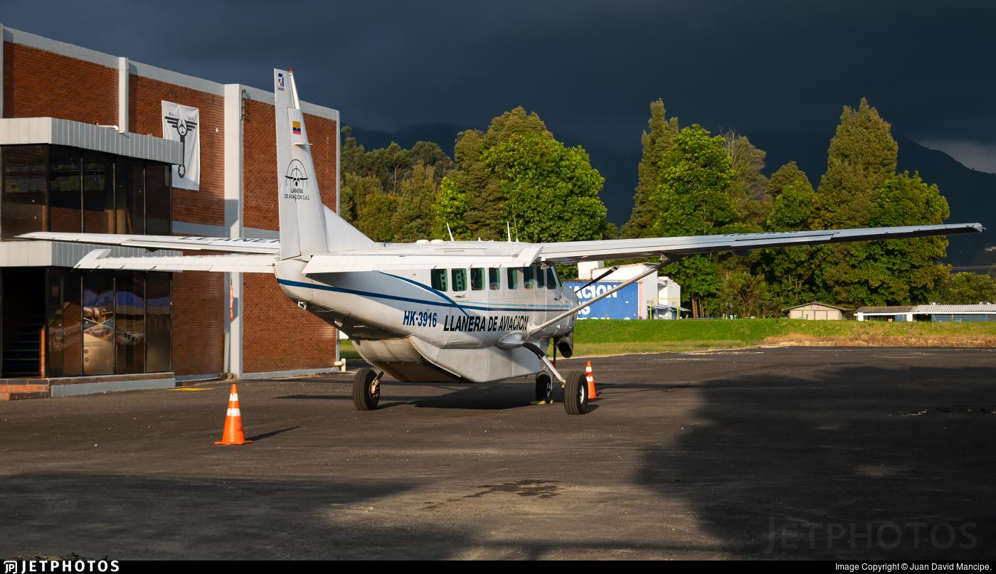 HK-3916 - Cessna 208B Grand Caravan - Llanera de Aviación