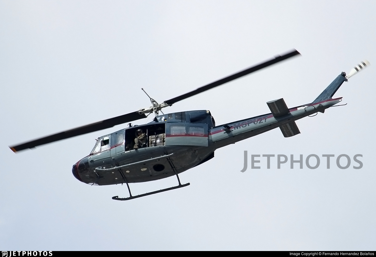 MSP027 - Bell UH-1ST - Costa Rica - Ministry of Public Security