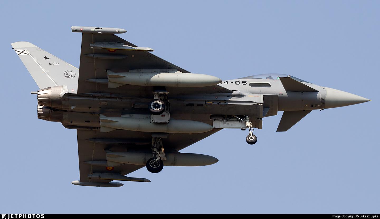 C.16-38 - Eurofighter Typhoon EF2000 - Spain - Air Force
