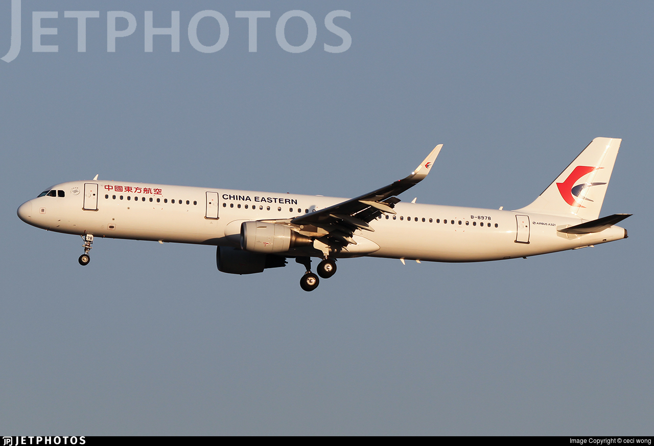 B-8978 - Airbus A321-211 - China Eastern Airlines
