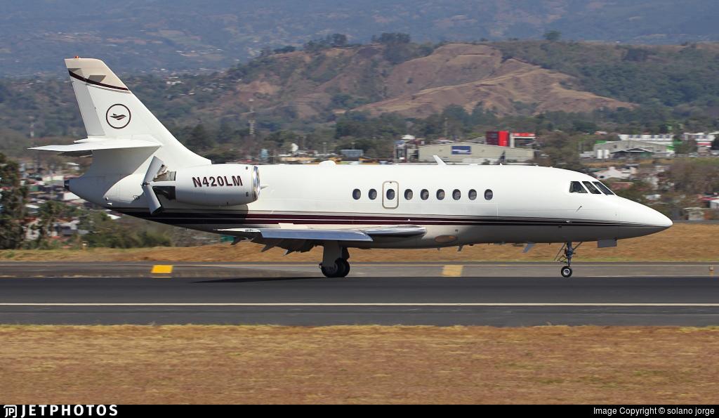 N420LM - Dassault Falcon 2000 - Private
