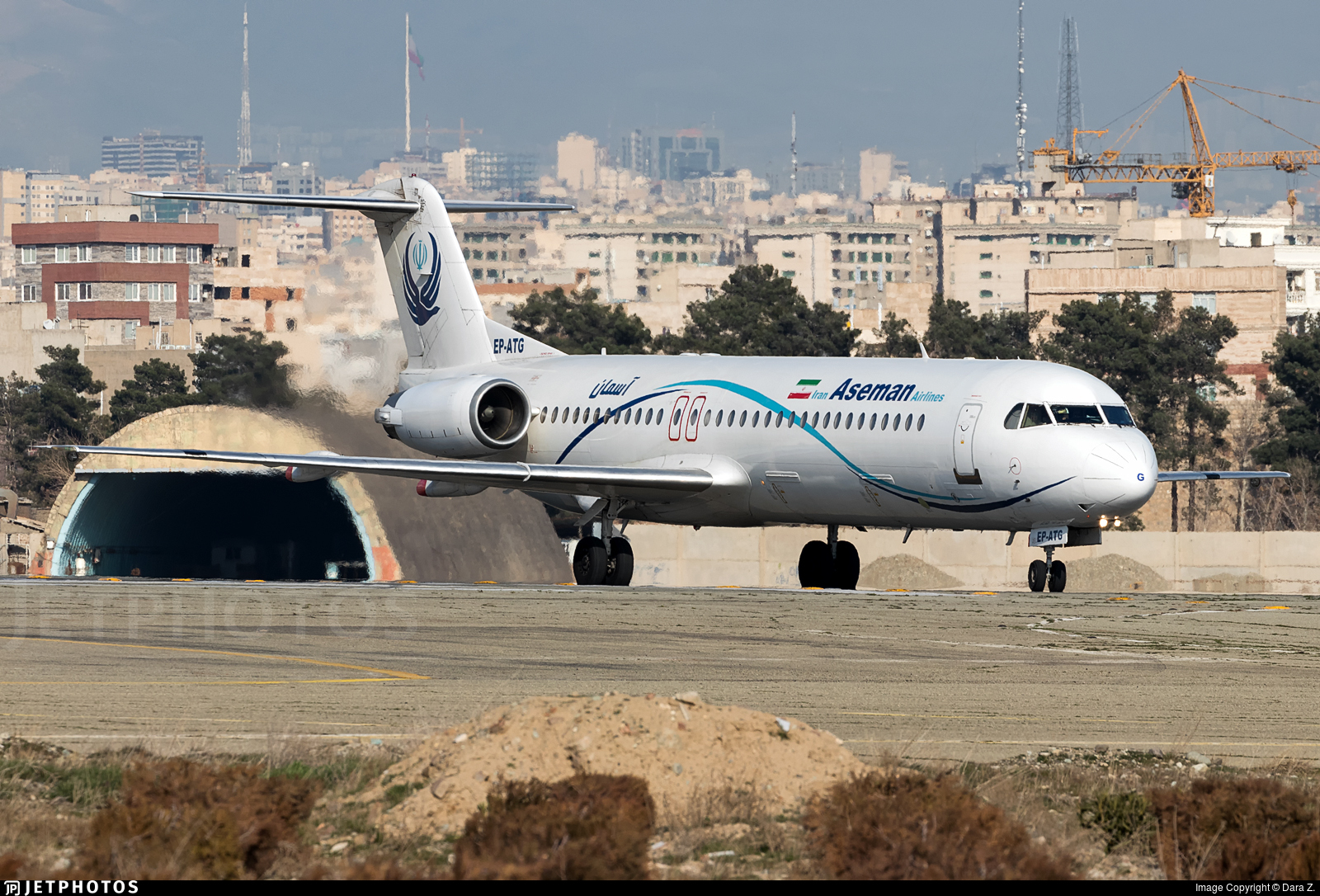 EP-ATG - Fokker 100 - Iran Aseman Airlines