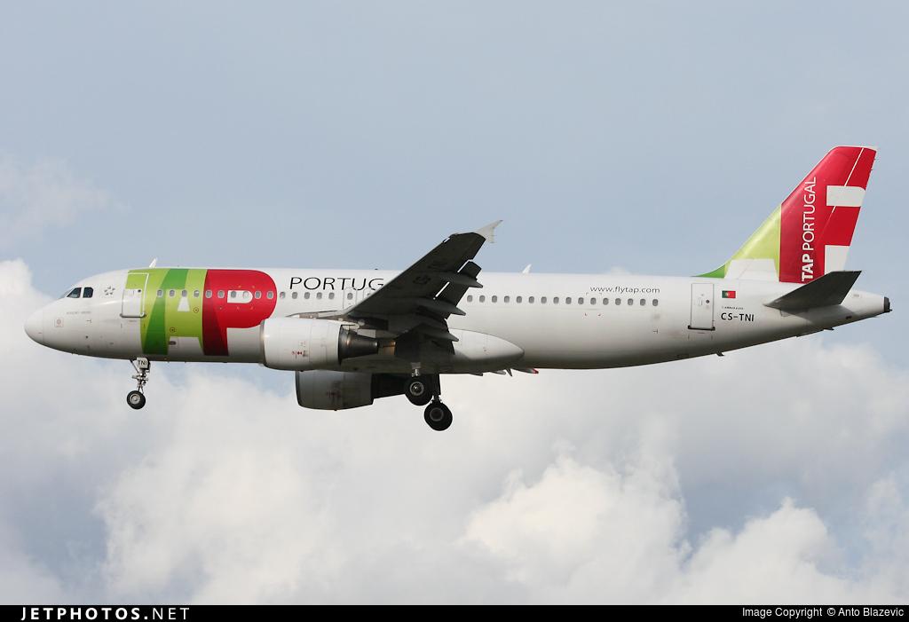 CS-TNI - Airbus A320-214 - TAP Portugal