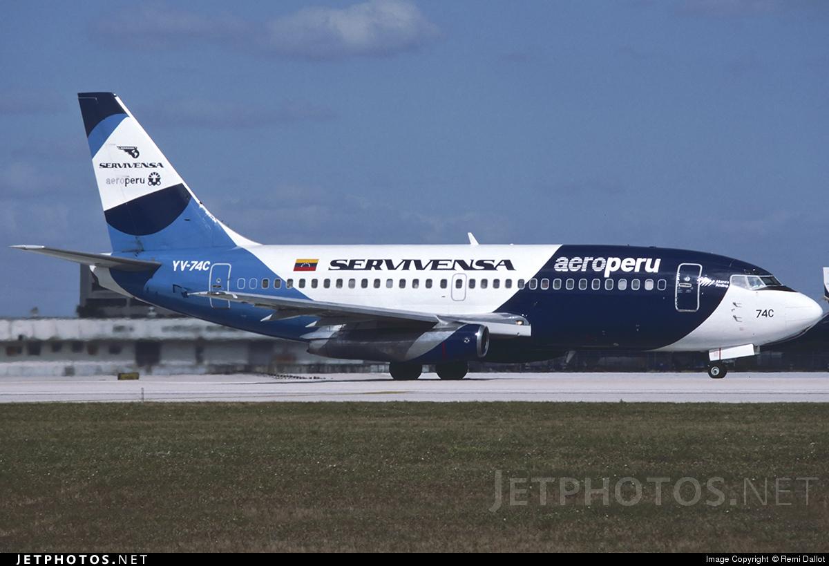 YV-74C - Boeing 737-229(Adv) - Servivensa