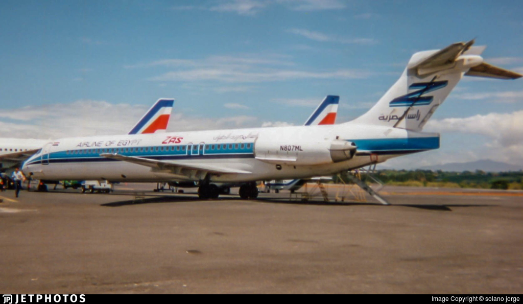 N807ML - McDonnell Douglas MD-87 - ZAS Airline of Egypt