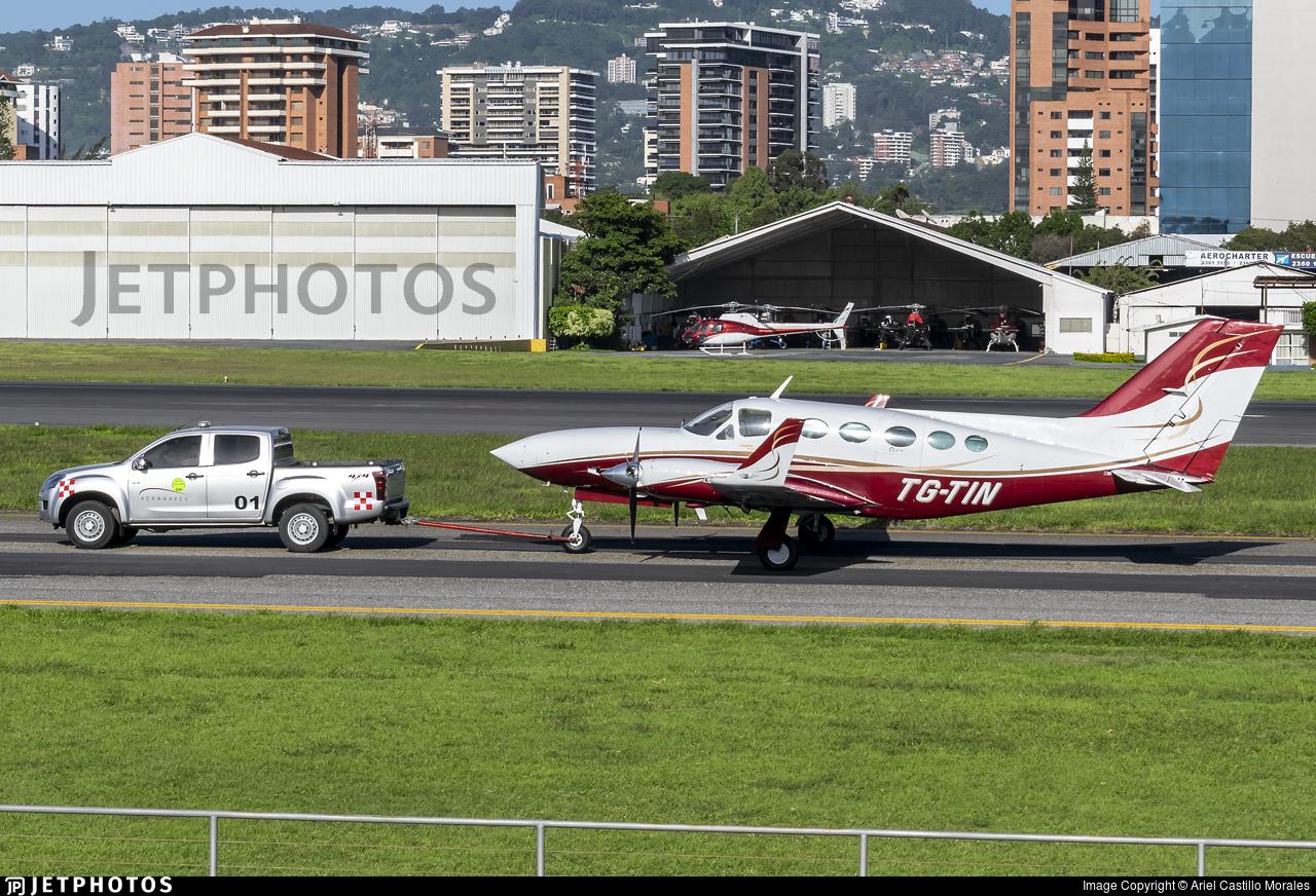 TG-TIN - Cessna 414A Chancellor - Private